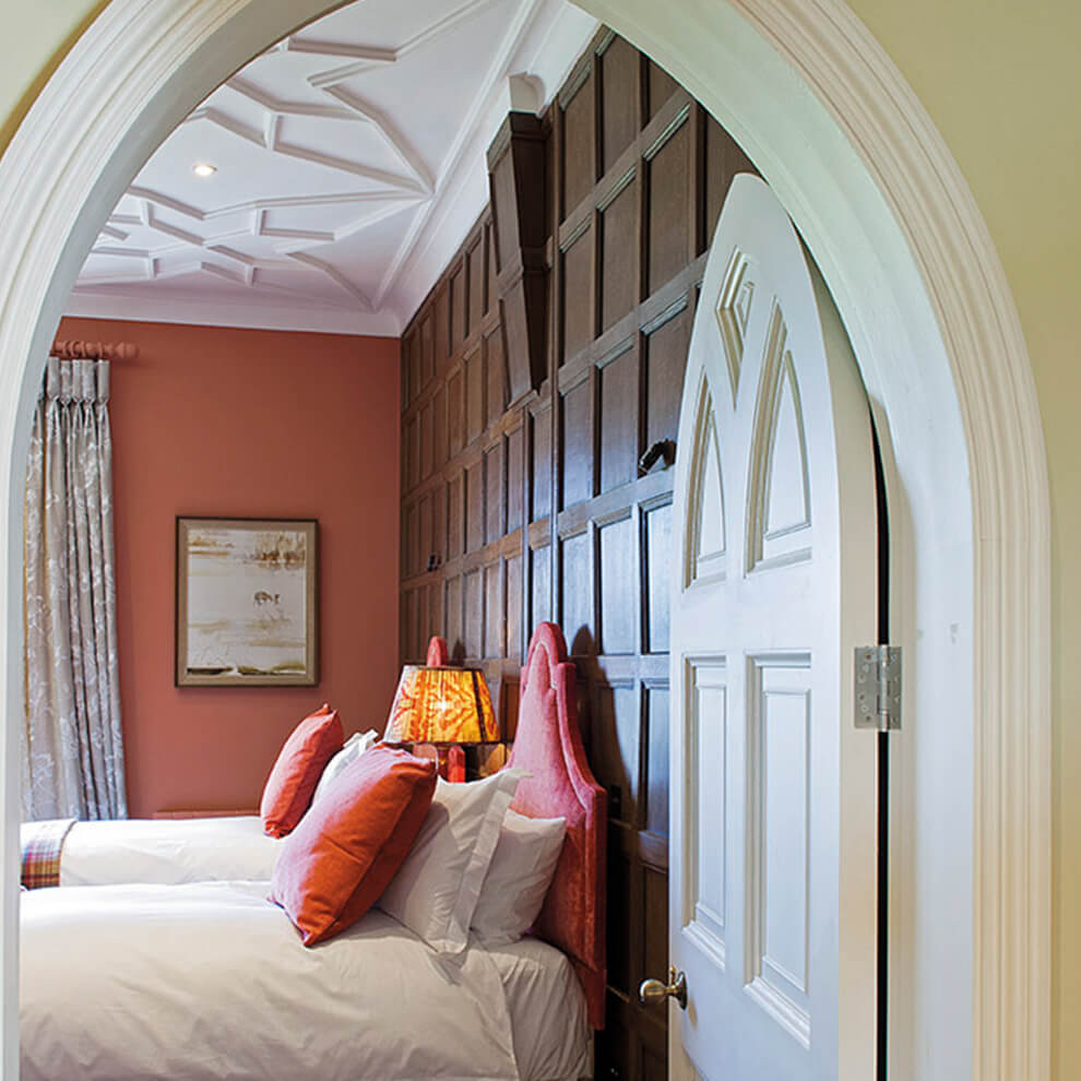 Enjoy modern guest accommodation facilities and home comforts at Combermere Abbey