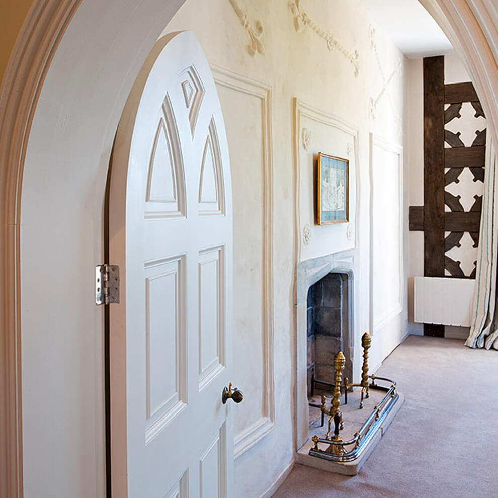 At the end of the celebrations newlyweds can retreat to the newly restored and luxurious honeymoon suite in The Abbey