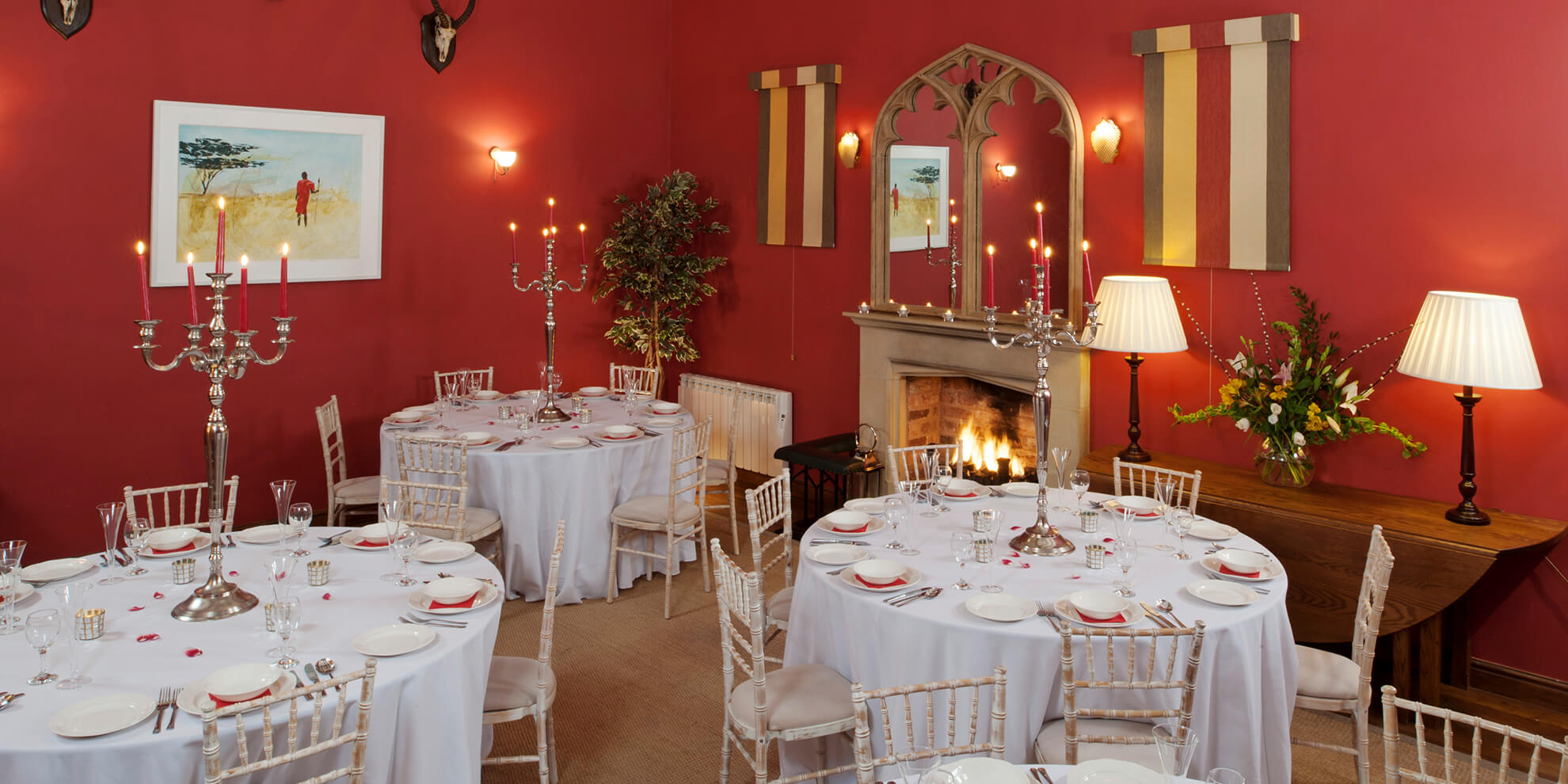 Combermere Abbey is perfect for those looking for conference venues in Cheshire or Shropshire