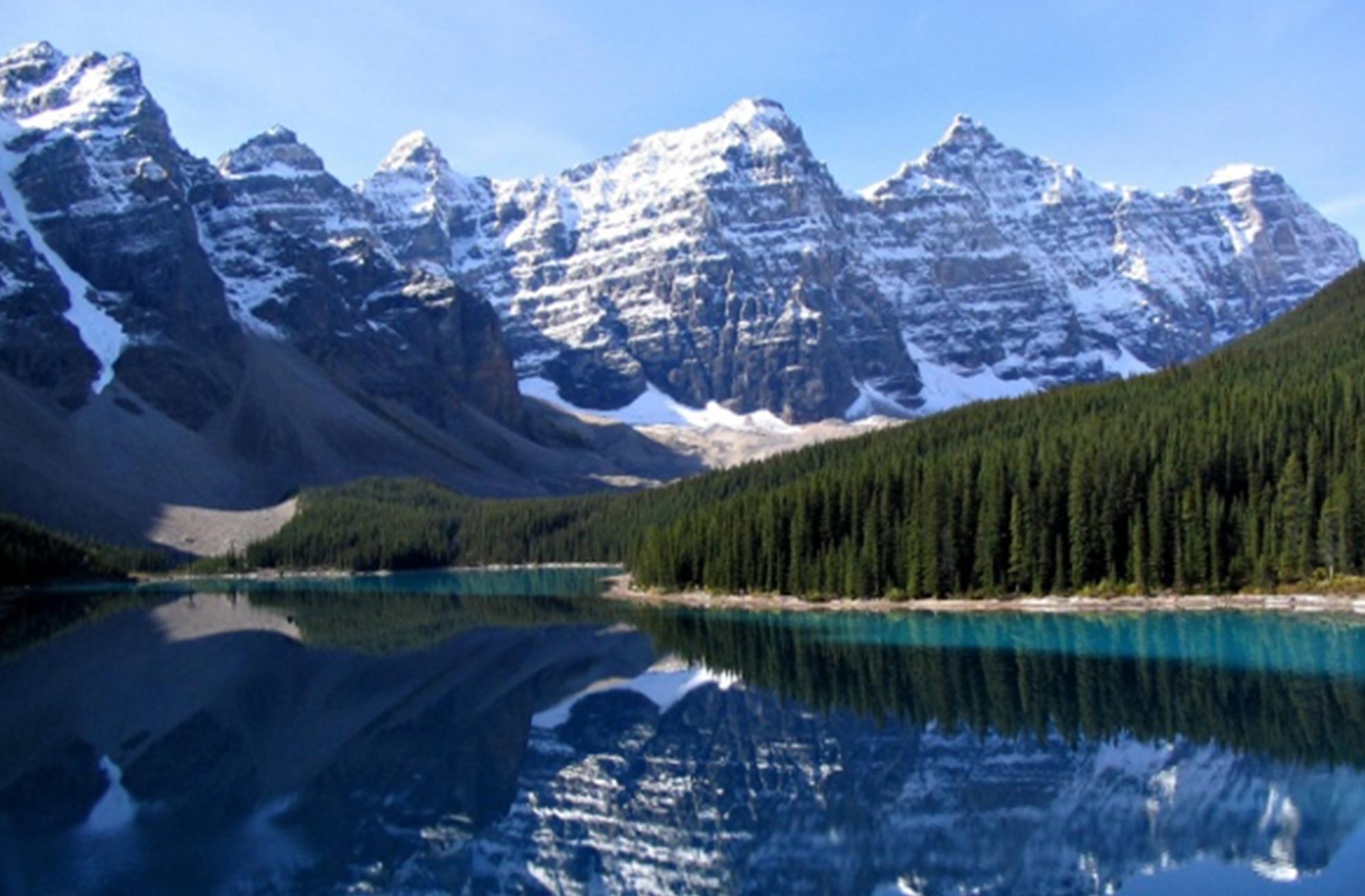Honeymoon location Canadian Rockies