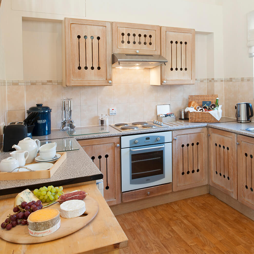 Enjoy the option of cooking up a hearty breakfast in the well-equipped kitchen in Stapleton Cottage