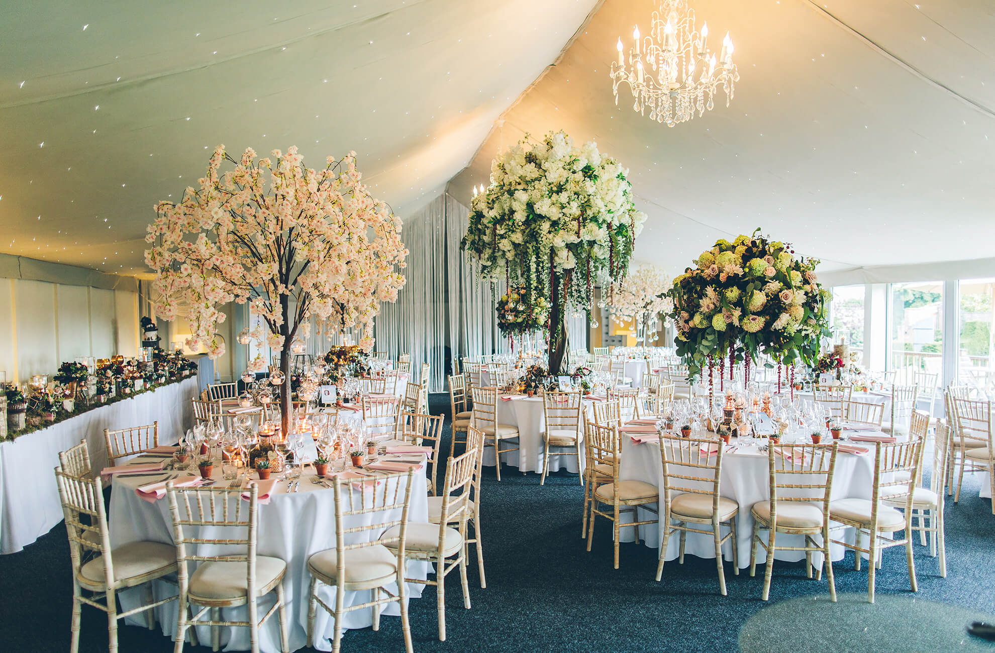 The Pavilion is the perfect blank canvas for your wedding reception at Combermere Abbey in Cheshire – wedding ideas