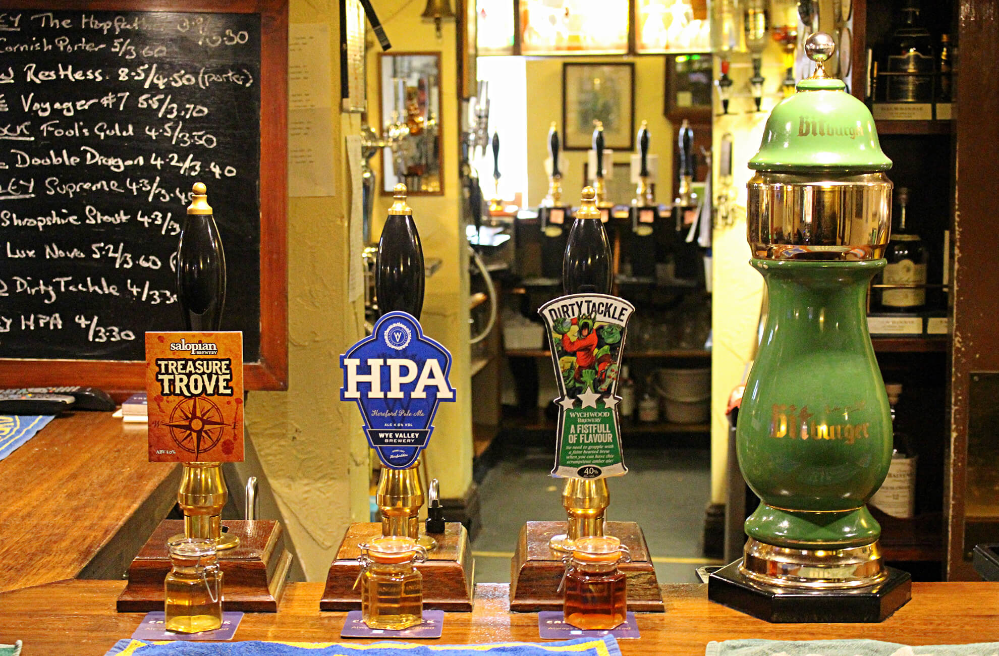 Only a short drive from Combermere Abbey In Cheshire is The Bhurtpore Inn pub