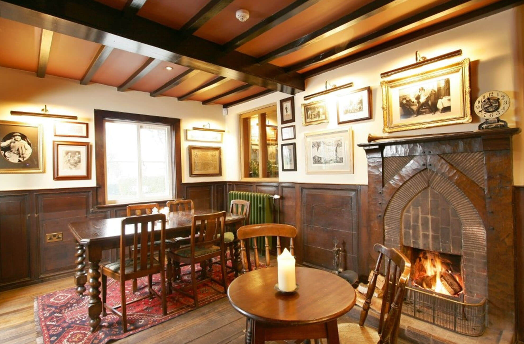 The Combermere Arms pub Is only a mile away from Combermere Abbey In Cheshire