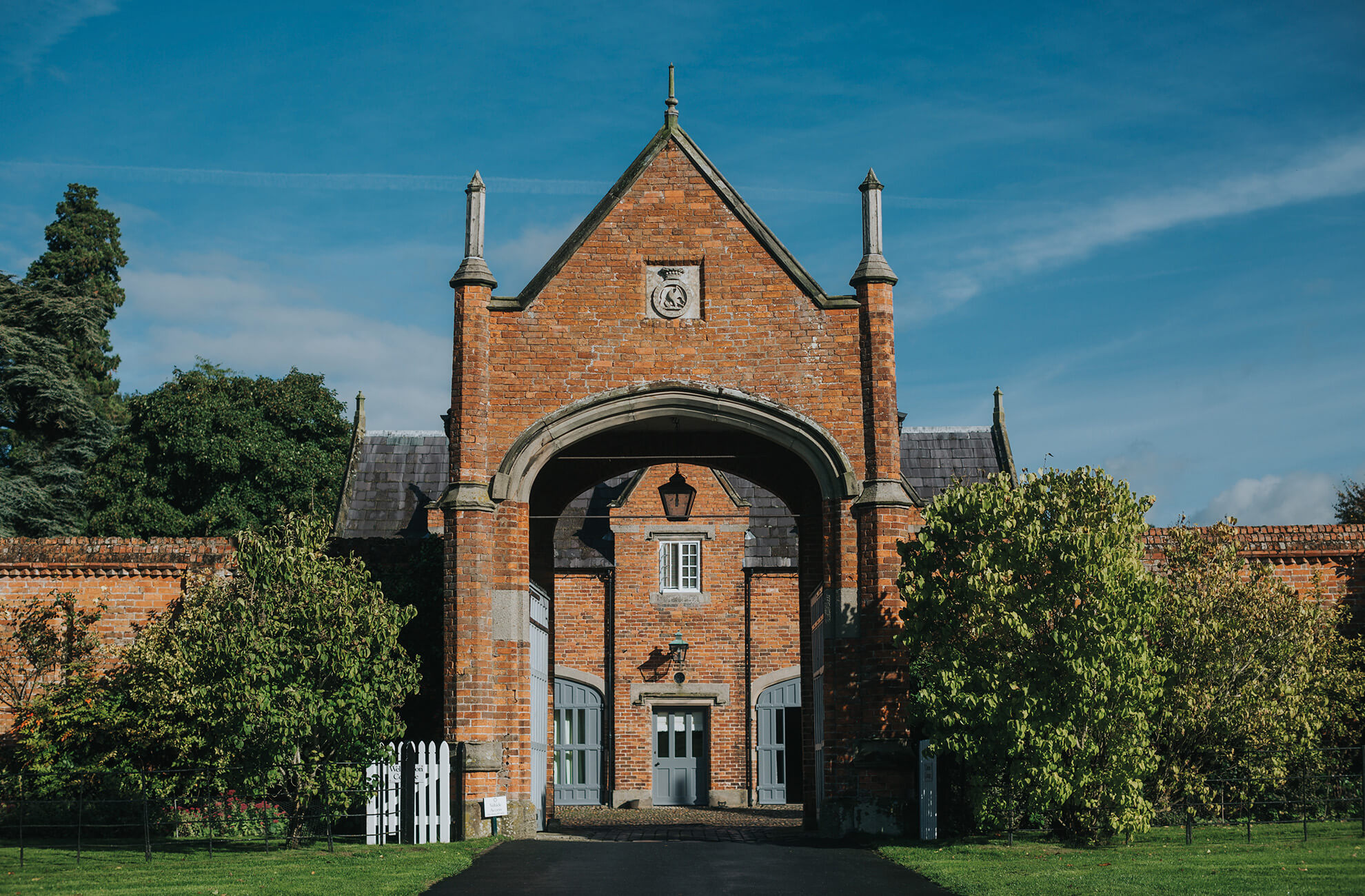 Wedding guests can stay in on site accommodation after your wedding at Combermere Abbey