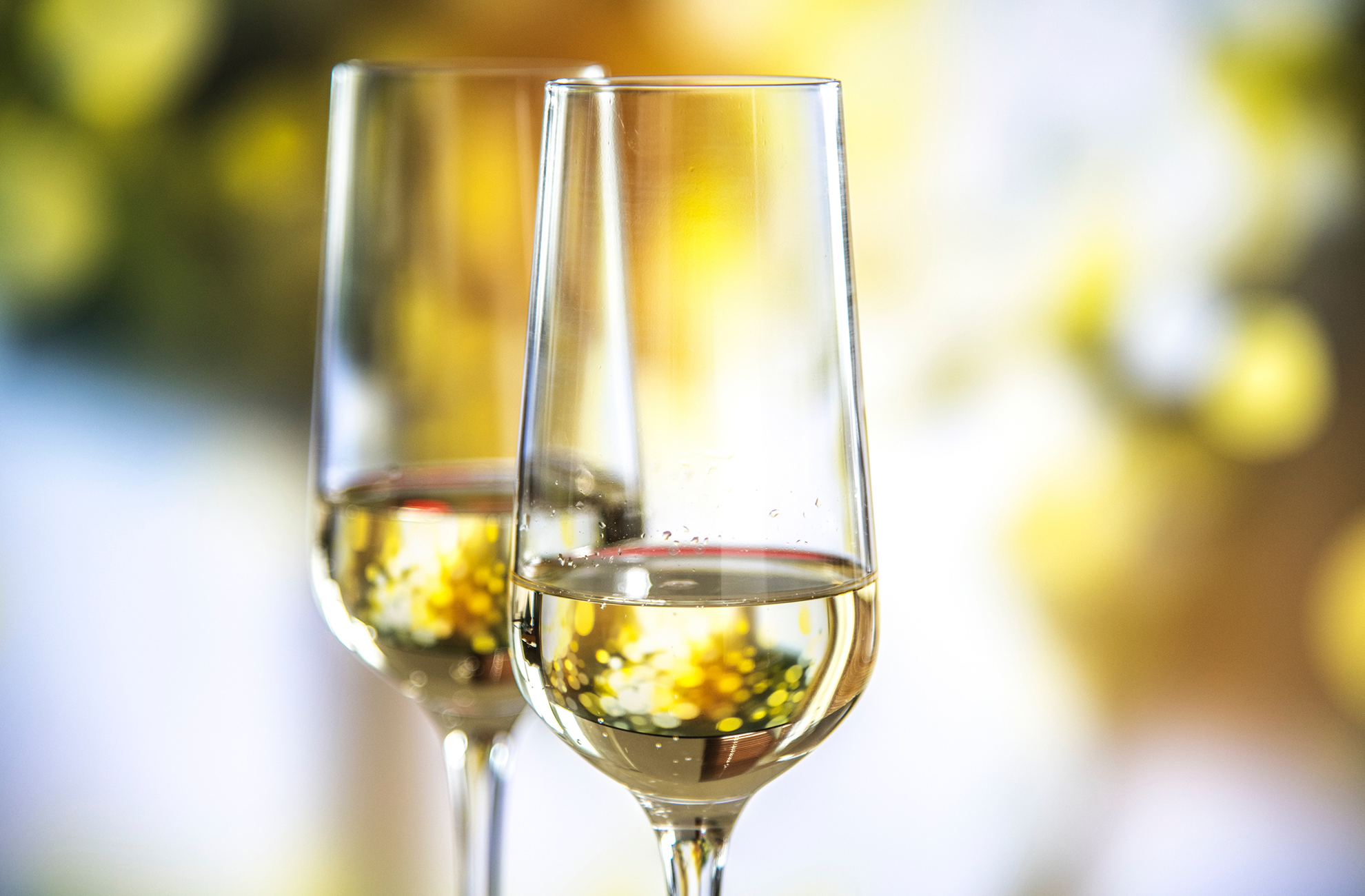 Treat yourself to a glass of prosecco during your stay at Combermere Abbey