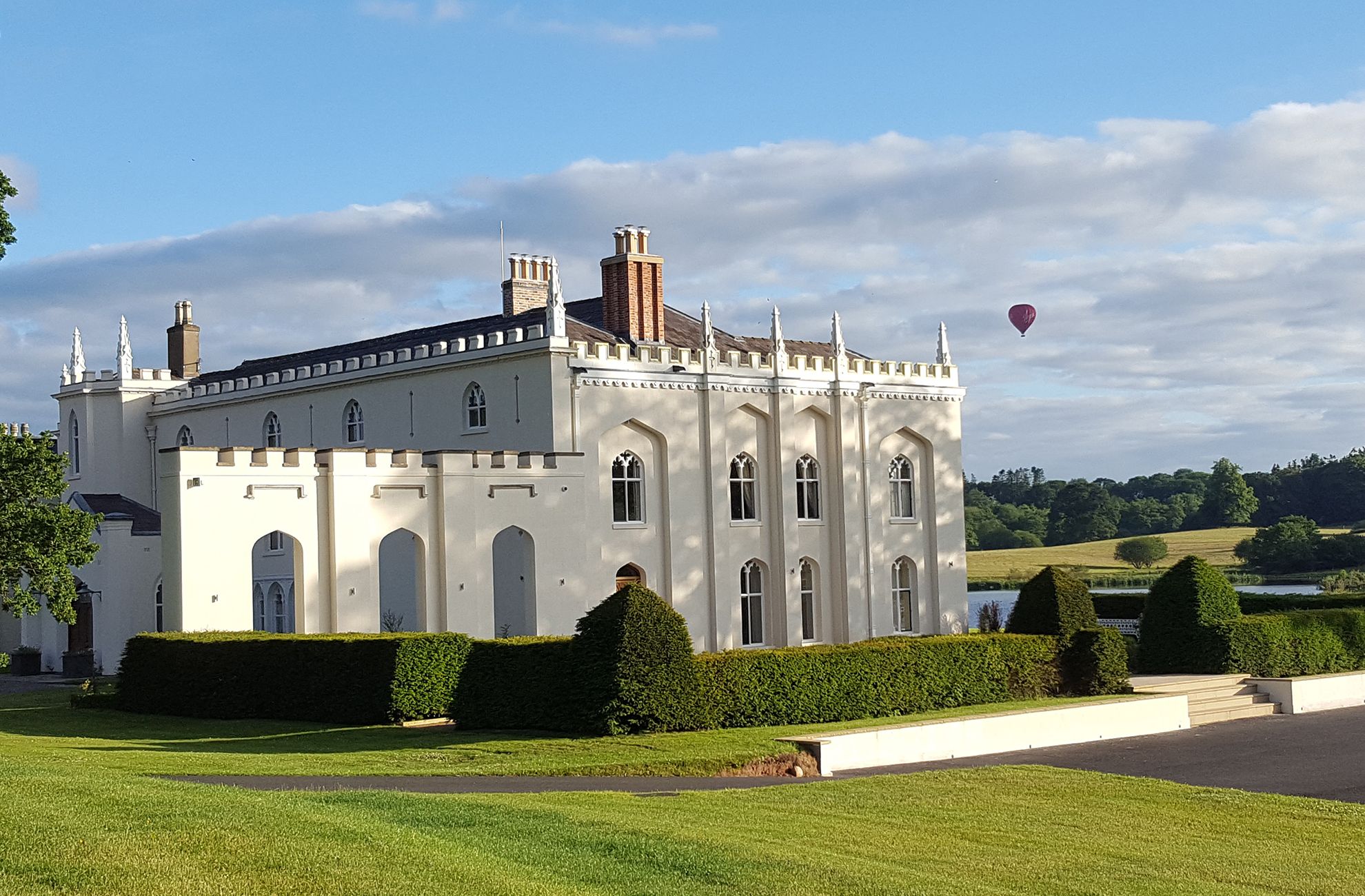 The beautiful North Wing at Combermere Abbey Is the perfect place for a romantic stay