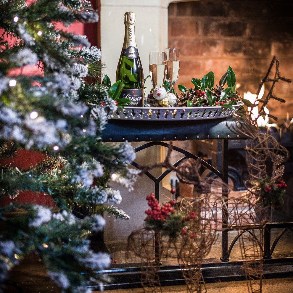 Spend Christmas at Combermere Abbey and experience a winter break like no other