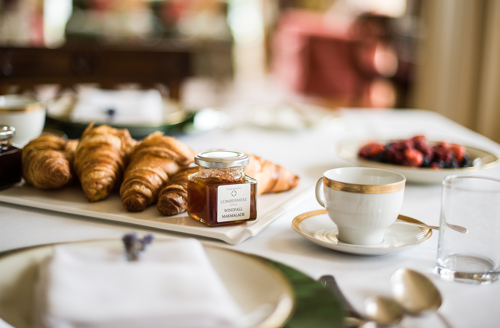 Enjoy a tasty breakfast during your stay at Combermere Abbey