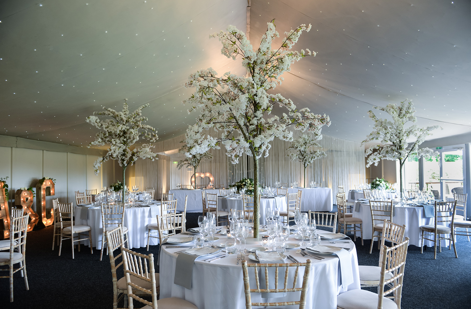 Use the Pavillion at Combermere Abbey for a fun wedding reception