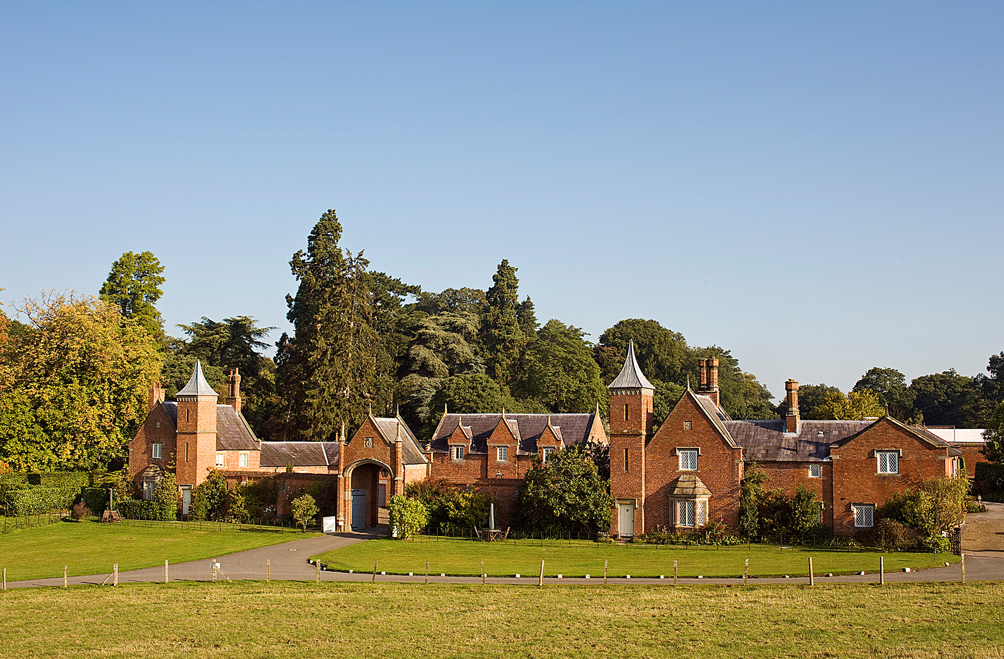 The self catering accommodation at Combermere Abbey is a fantastic Mother's Day treat for all the family