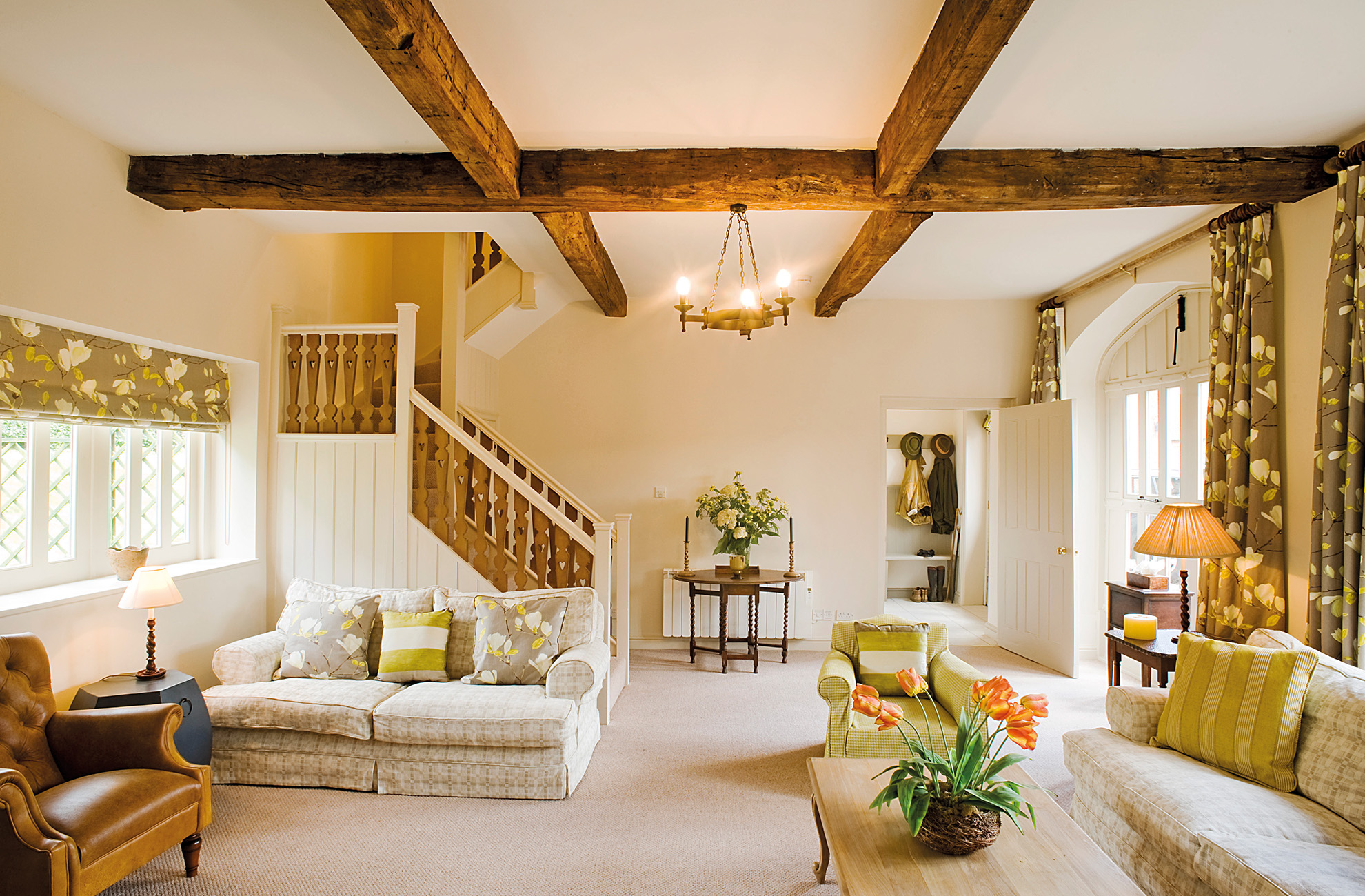 The Malbanc holiday cottage at Combermere Abbey is perfect for a Mother's Day celebration