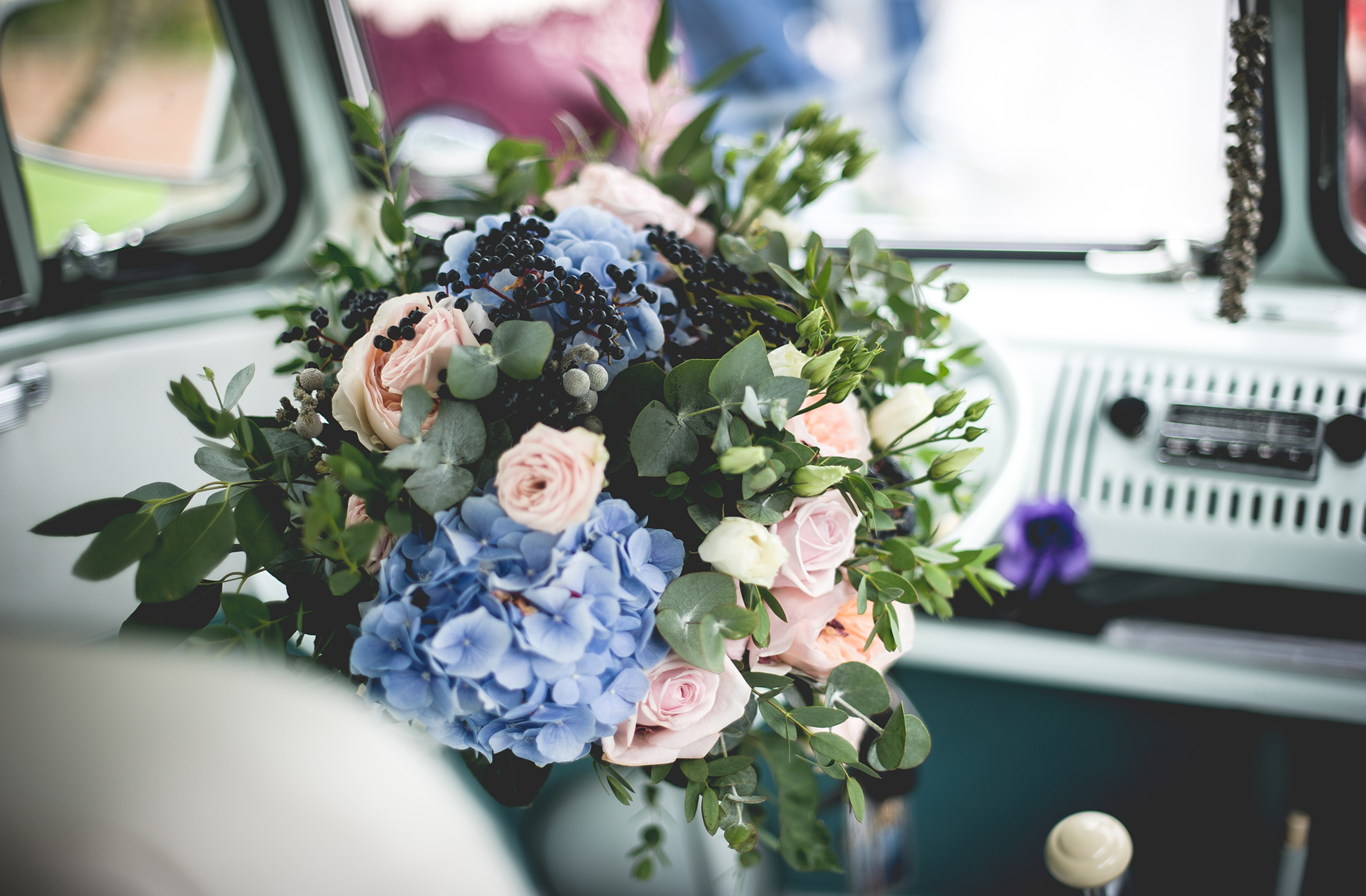 For a spring wedding bouquet at Combermere Abbey choose pastel shades – wedding ideas