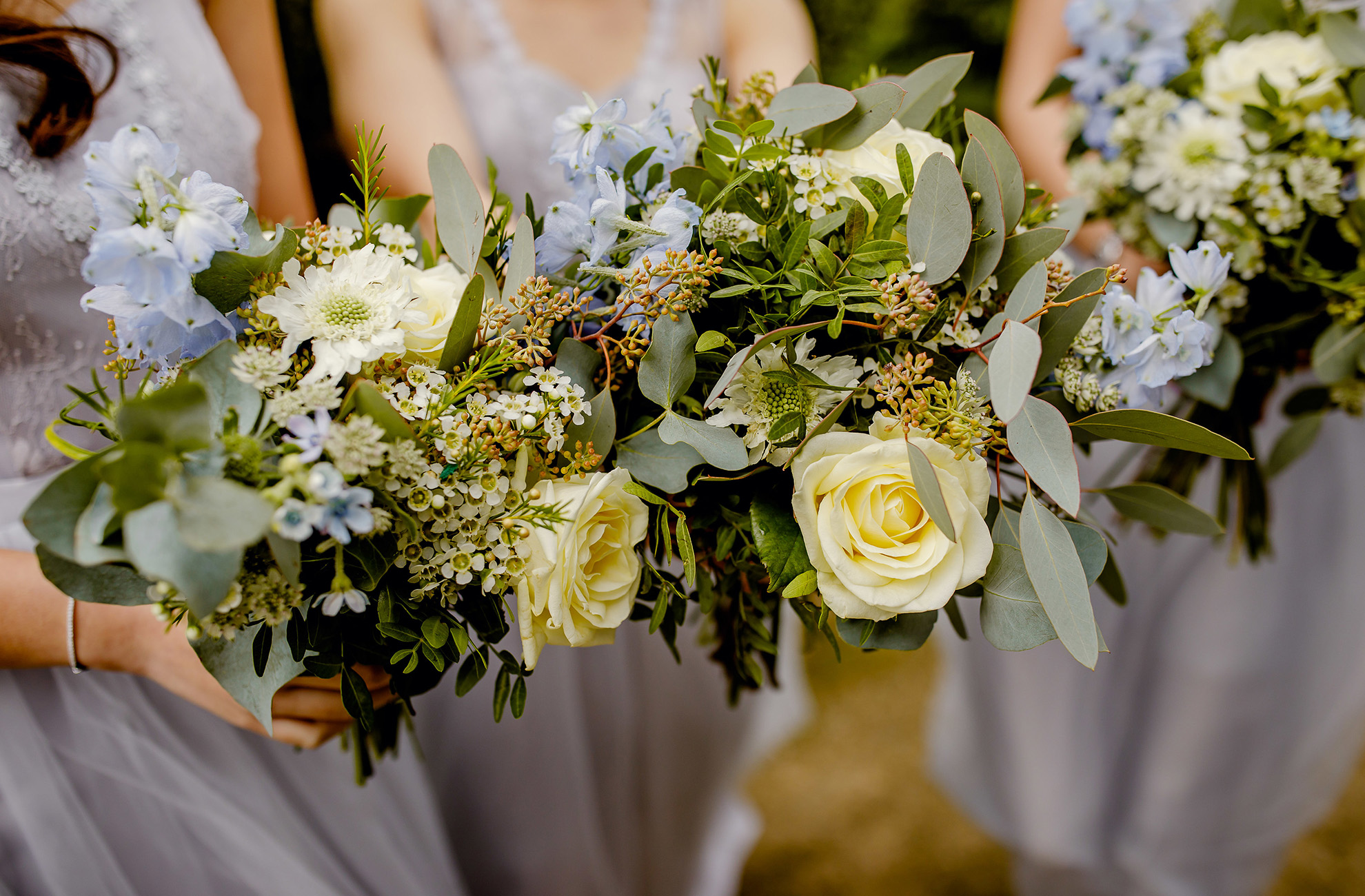 Use wild flowers to add a feeling of spring to your wedding at Combermere Abbey