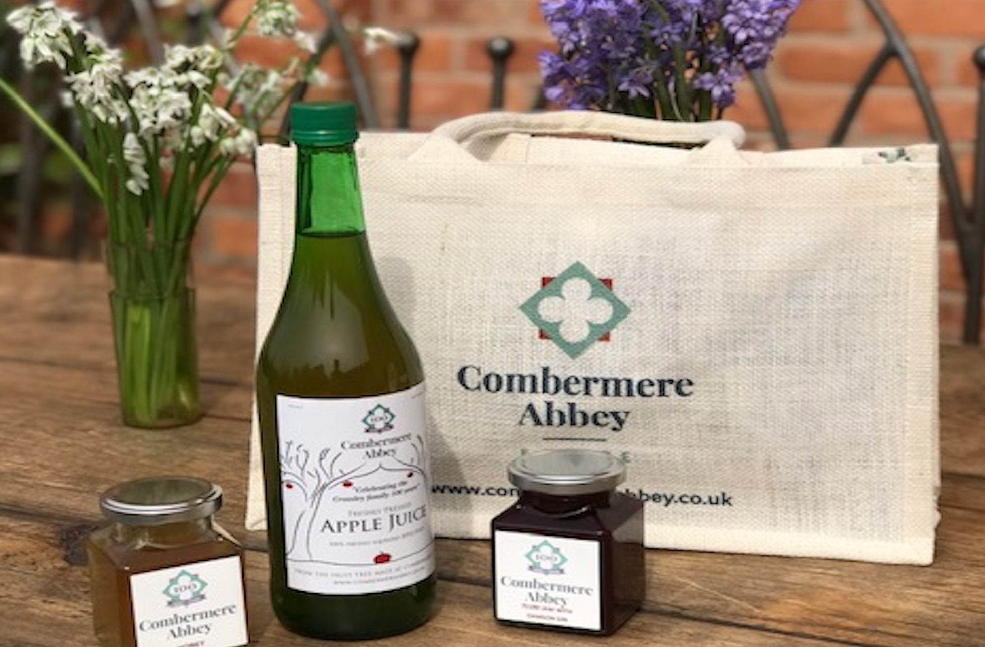 Cottages at Combermere Abbey all come with a locally produced hamper