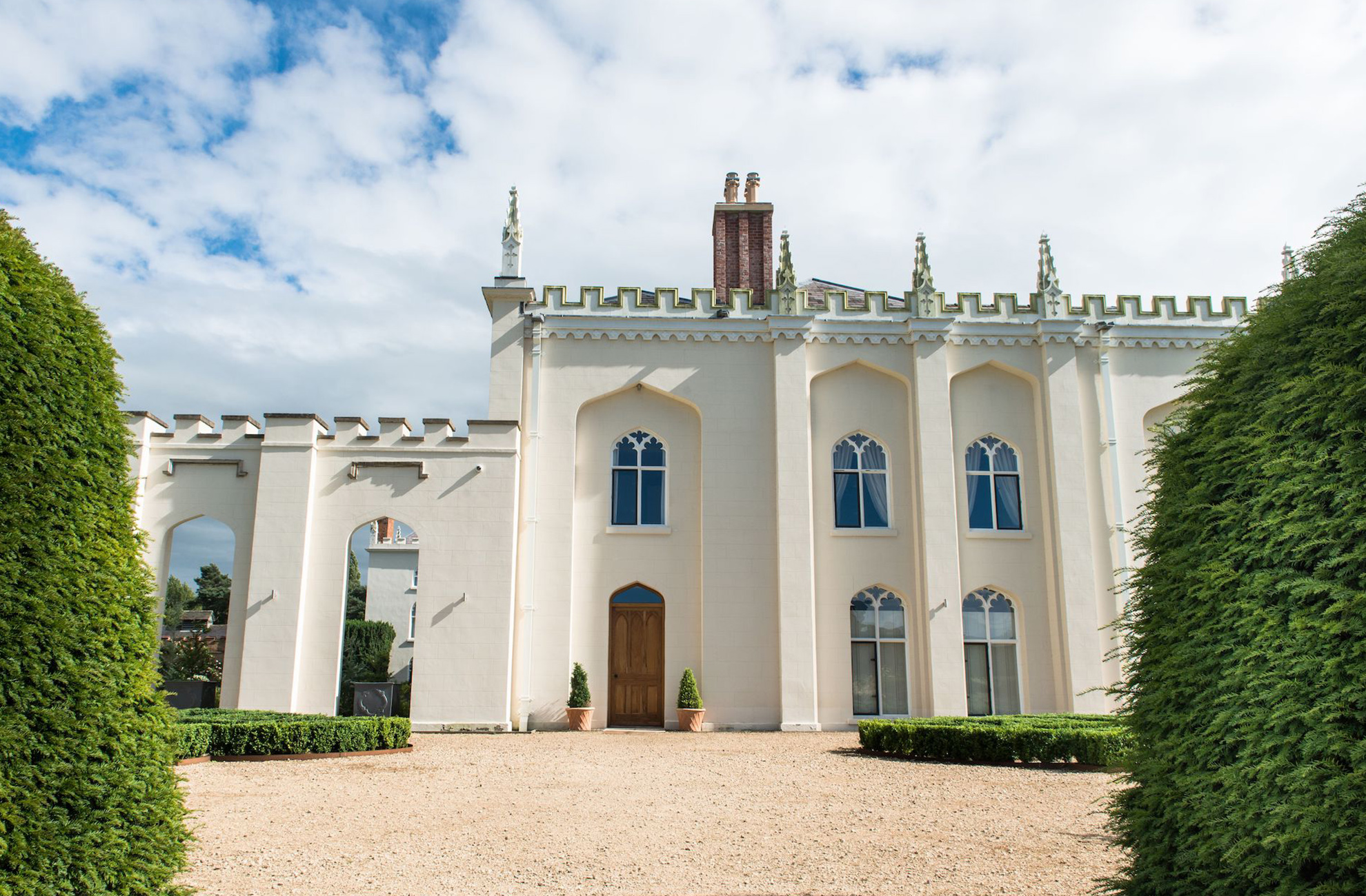 Enjoy a luxury stay in the North Wing accommodation at Combermere Abbey