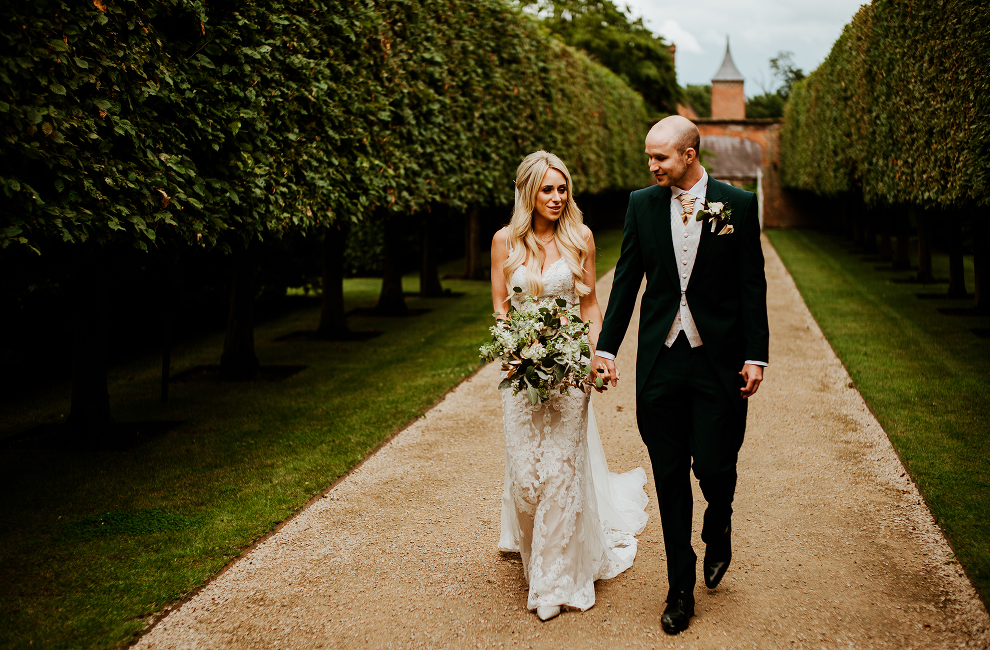 Glamorous Cheshire Wedding: Abi and Charlie at Combermere Abbey