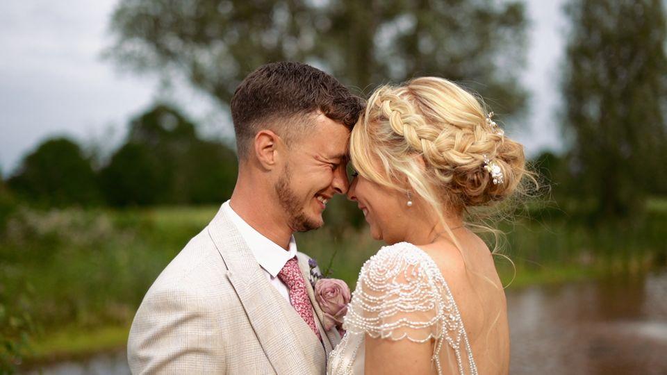 natural wedding video